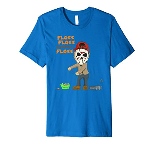Jason Floss, der Tanzen-Halloween-T-Shirt abpinkelt