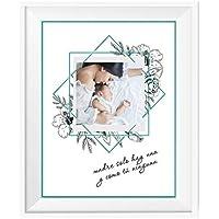 Lámina Personalizada con Foto/Regalo Original Mamá/Incluye: Lámina + Marco/Día de la Madre/Cumpleaños/Navidad/Aniversario/Mujer/Chica/Señora