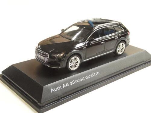 Audi Original A4 allroad Modellauto 1:43 Mythosschwarz Schwarz Modell 2016
