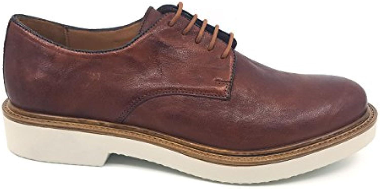 ANTICA CUOIERIA Zapatos de Cordones de Goma Para Hombre * -