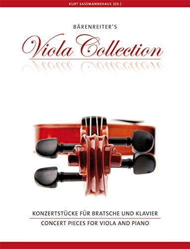Konzertstücke für Bratsche und Klavier. Reihe Bärenreiter's Viola Collection. Viola-Stimme mit eingelegtem Klavierauszug