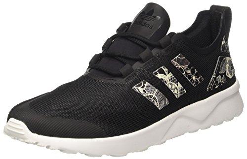 adidas Damen ZX Flux ADV Verve Sneaker, Schwarz core Black/FTWR White, 37 1/3 EU