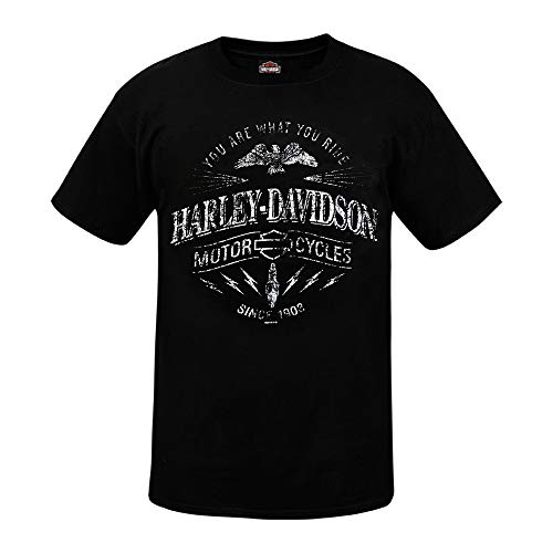 HARLEY-DAVIDSON® Ride Spark T-Shirt and Warr\'s London Timeless Legends Back (XL)