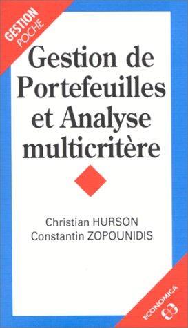 Gestion de portefeuilles et analyse multicritère