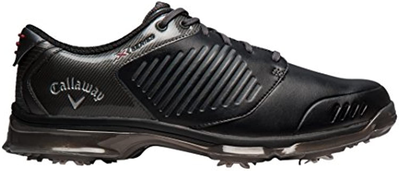 Callaway Herren Golfschuhe  Schwarz   Schwarz/Schwarz   Größe: 47