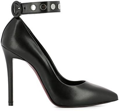 Franco Colli Mujer FC1157020NAPPANERO Negro Cuero Zapatos Altos