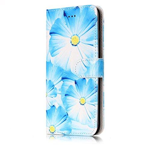 Yaking® Apple iPhone 7 Plus PU Portefeuille Étui Coque Stand Flip Housse Couvrir impression Case Cover P-5