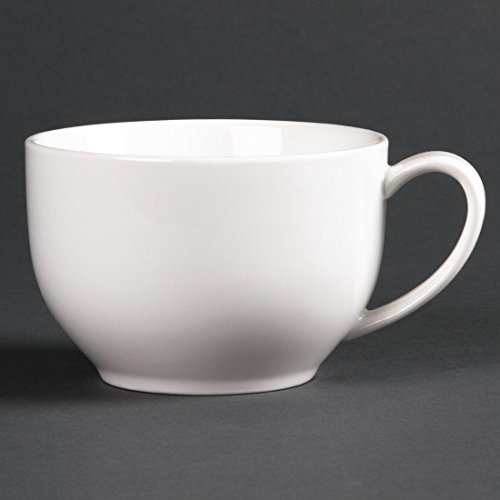 Lumina Fine China CD647Low rund cup, weiß (6Stück)