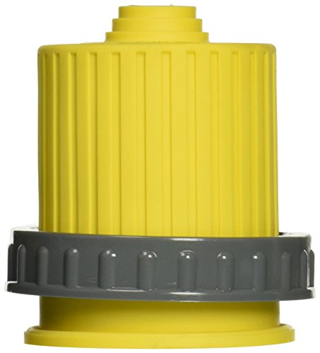 Hubbell Wiring Systems HBL60CM33V Twist-Lock Ship-to-Shore Vinyl Threaded Seal-Tite Cover for HBL26CM13V Connector Body, Yellow by Hubbell Wiring Systems -