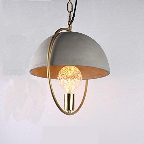 Artcraft Beleuchtung Mini lampe Retro industriellen stil beton stahl ring lampe kunst mode...