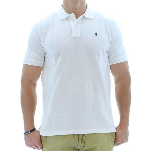 Polo Ralph Lauren Herren Poloshirt Weiß