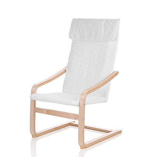 iKayaa Schwingsessel Sessel Relaxstuhl Design Sessel