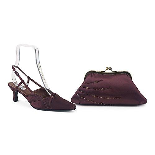 FARFALLA - Scarpe con cinturino alla caviglia donna Brown
