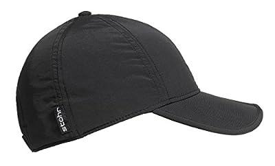 Foldaway GORE-TEX® Cap STÖHR Schiebermütze Kappe / Cappy - wasserdichte Schirmmütze Unisex (Damen & Herren) one size in verschiedenen Farben mit Sonnenschutz UV-Schutzfaktor (UPF) 40+ / Supplex