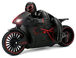 The Flyers Bay High Speed Professional Rc Motorcycle 2.4 Ghz Bike With Built In Gyroscope, Red