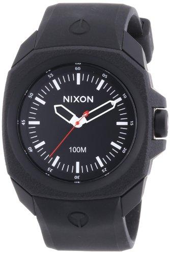 nixon-a349001-00-montre-homme-quartz-analogique-bracelet-silicone-noir