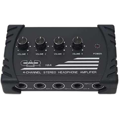 CAD Audio HA4 Four Channel Stereo Head Phone amplificatore