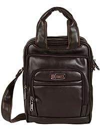 KLARK Unisex Sling Bag (Brown, FMS-948 BROWN)