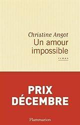 Un amour impossible - Prix Décembre 2015