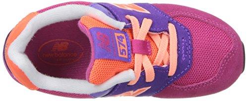 New Balance Unisex-Kinder Kl574wtg M Sneakers pink / violett