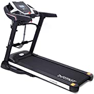 Fitkit FT100M XR Series 1.75HP (3.25HP Peak) Motorized Treadmill With Free at Home Installation Services and F