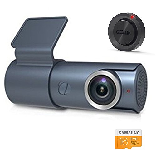 Goluk T3 Compact Car Dash Cam FHD 1080P Driving Recorders Camera Build in Wifi G-Sensor Parking Monitor Loop Recording, Support up to 128GB SD Card