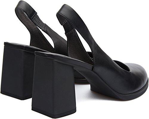 BLACK SHOES CAMPER LESEN K200107-003 Schwarz