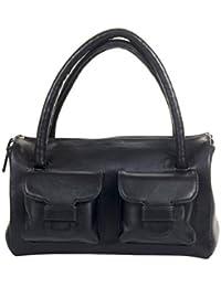 Stylogy Satchel (Black) (bag-sat08-00003-b)
