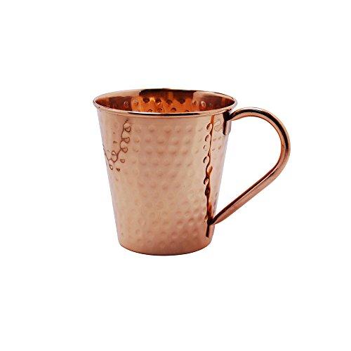Kosma Moskau Mule Kupfer Tasse 20 Unzen, 590 ml - Hammered Kupfer Becher mit Griff | Kupfer-Cocktail-Becher