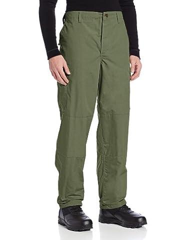 TRU-SPEC Men's Polyester Cotton Rip Stop BDU Pant, Olive Drab, X-Large Long