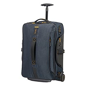Samsonite Paradiver Light Duffle with wheels Strictcabine, 55 cm, 48,5 L, Jeans Blue
