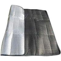 Formulaone Desertcamel 300cmx300cm Doble Cara de Papel de Aluminio Que acampa Estera EVA Picnic al Aire Libre Barbacoa Impermeable a Prueba de Agua tapete de la Estera