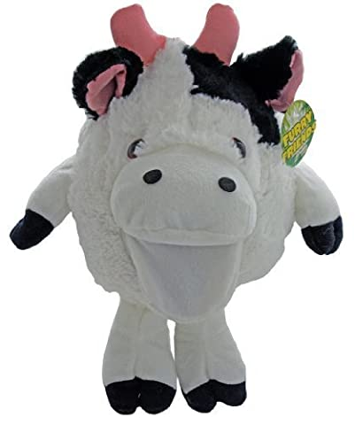 Shaggy Sidekicks Plush Stuffed Animal Toys - Plush Cow Hand Puppet - Moos With Hand Movement - Sale On Now! by Shaggy Sidekicks