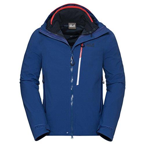 Preisvergleich Produktbild Jack Wolfskin 3 in 1 Jacke Quintessence Herren Royal Blue Large