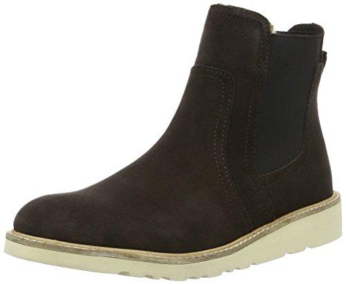 ESPRIT Damen Kajal TG Bootie Chelsea Boots Braun (201 Dark Brown 2) 40 EU