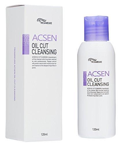 [troiareuke] Öl Schnitt Cleansing 120ml All in One Cleanser - Gesicht Reinigen Mit Aloe-pads