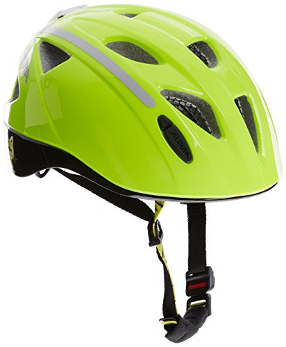Alpina Kinder Radhelm Ximo Flash Fahrradhelm be Visible reflectiv, 49-54 cm