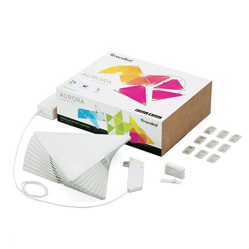 nanoleaf Aurora – 9x Modulare Smarte LED – Lichtpanels mit App Steuerung - 3