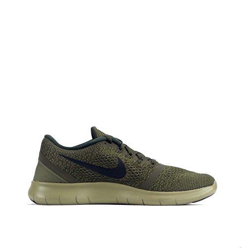 Nike Damen Schlichte Ausführung T-Shirt Dark Loden/Black-Neutral Olive