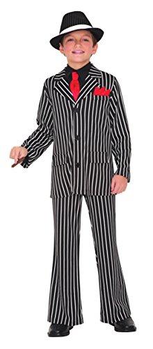 Gangster Guy Kinder Kostüm - 8 bis 10 (Bis Kostüm Guy)