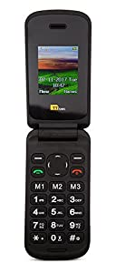 TTsims-Flip TT140 Mobile Phone-Camera-Bluetooth-Cheapest Folding Clamshell Phone (Black)