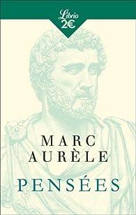 Pensées par  Marc Aurèle