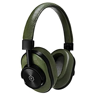 Master & Dynamic MW60 Wireless Premium Leather Over-Ear Headphones with Extended Bluetooth 4.1 Range & 45mm Neodymium Driver Black Metal / Olive Leather (B0784WS6MZ) | Amazon price tracker / tracking, Amazon price history charts, Amazon price watches, Amazon price drop alerts