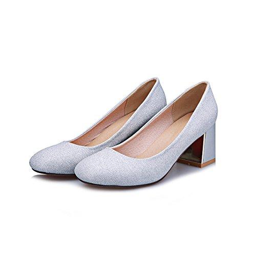 Adee Mädchen Western Polyurethan Pumpen Schuhe Blau