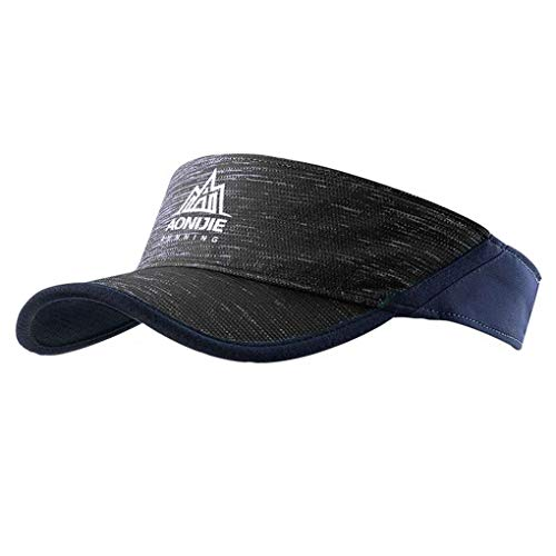 Provide The Best Las Mujeres de los Hombres al Aire Libre Que se vacíe el Casquillo del Sombrero de Copa Deporte Maratón Mujeres Casquillo del Visera yendo contra los Rayos UV Tapas para AONIJIE
