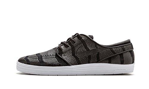 Nike Lunar Stefan Janoski, Scarpe da Skateboard Uomo Multicolore (Varios colores (Negro / Plateado (Black / Anthracite-Pure Platinum)))