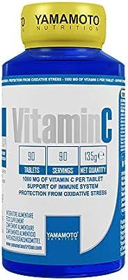 Yamamoto Nutrition Integratore di Vitamina C - 90 Compresse