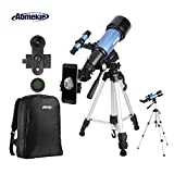 Best telescopios - Aomekie Telescopio Astronómico 70/400 Telescopios Niños con Adaptador Review
