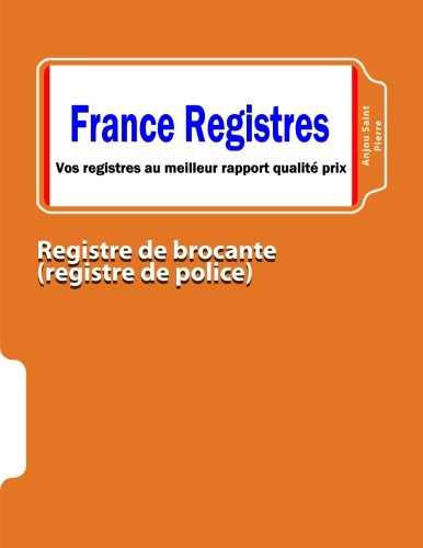 pdf t l charger registre de brocante registre de police livre gratuits. Black Bedroom Furniture Sets. Home Design Ideas