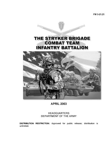 Field Manual FM 3-21.21 The Stryker Brigade Combat Team Infantry Battalion April 2003 Including Change 1 (English Edition) -